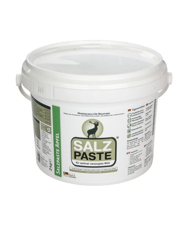 Apple salt paste