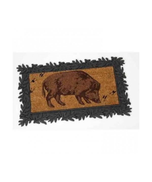 """Doormat """"Wild hog"""""""