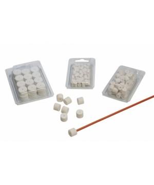 Cleaning felt pads cal. 8 mm (50 pcs)