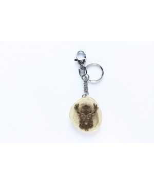 Keychain with deer decoration