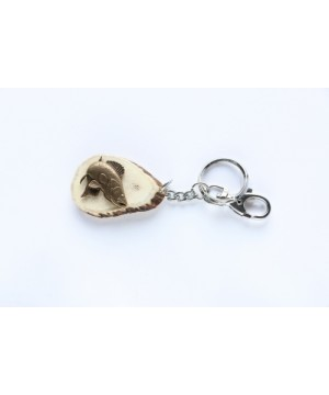 Keychain with fish decoration