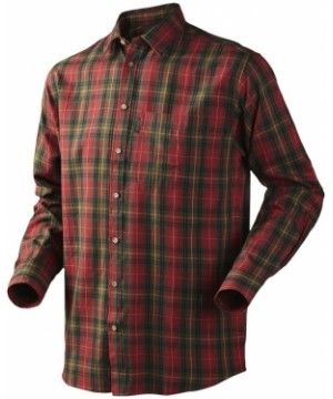 Shirt Pilton Spicy red