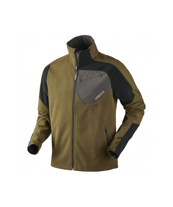 14d121ca752 Jacket Harkila Thor fleece in Olive green Black)