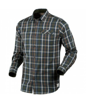 Gibson Shirt in Carbon Blue Check