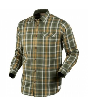 Gibson Shirt Forest Green Check