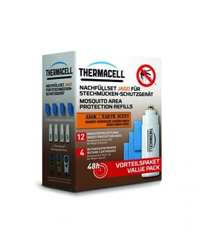 ThermaCELL Mosquito Repellent Refills, 1 set (earth scent) for 48 hours