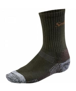 Socks Seeland Eton Crew (Dark green)