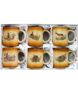 Hunting cup set 6 pcs.