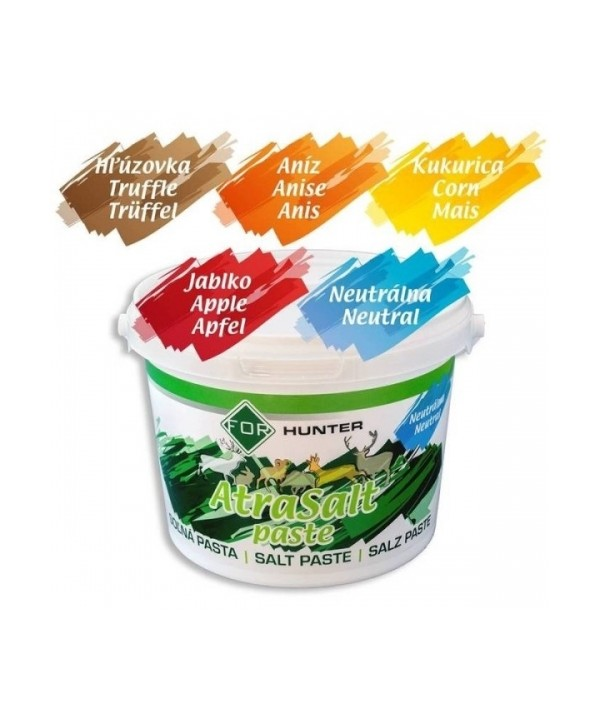 ATRASALT lick paste (Apple flavor) 3kg