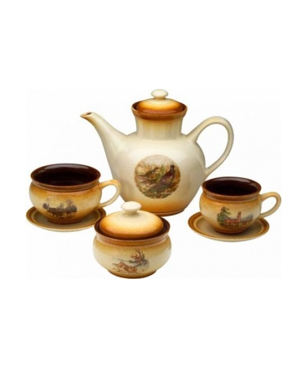 Ceramic Tea set (14 pcs)