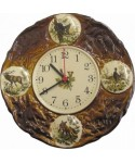 Decorated Wall Clock (26cm)