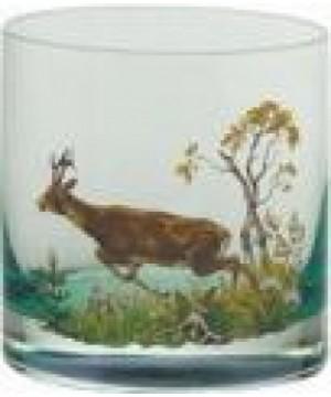 "Vhisky Glass Set ""Green"" 6 pcs (250 ml)"