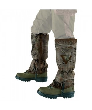 Camouflage Gaiters with Deer Motif (green)