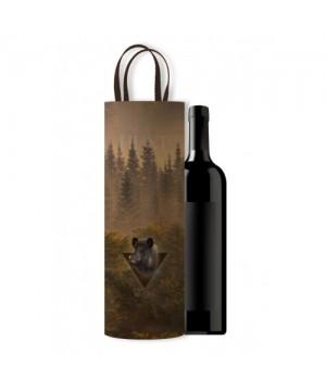 Wine Bag with Boar Motif