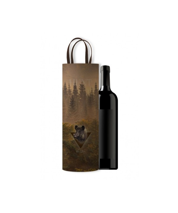 Wine Bag with Boar Motif