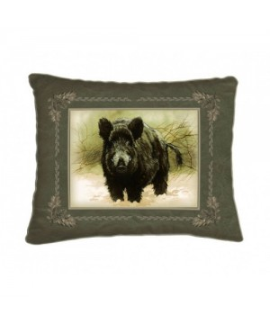 Cushion with Boar Motif (42x42)