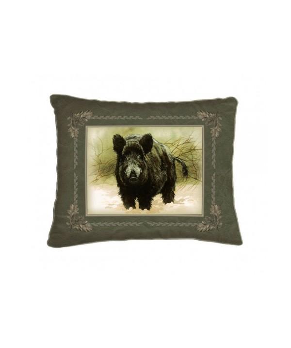 Cushion with Boar Motif (42x42)