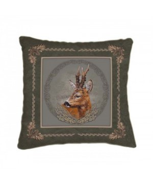 Cushion with Roe Deer Motif (42x42)