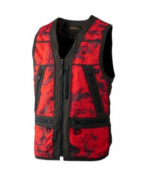 Safety Waistcoat Lynx Axis MSP (Red Blaze/Shadow brown)