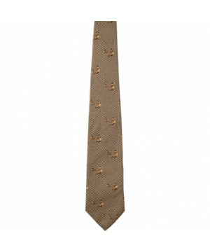 Silk Tie Seeland Morgan (Faun Brown)