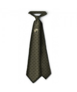 Tie with Deer Emblem (green)