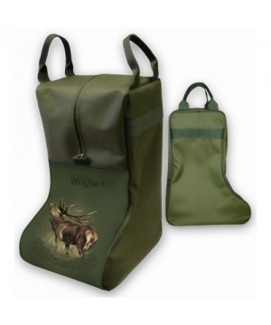 Boot Case with Deer Print