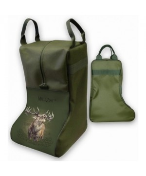 Boot Case with Roaring Deer Print