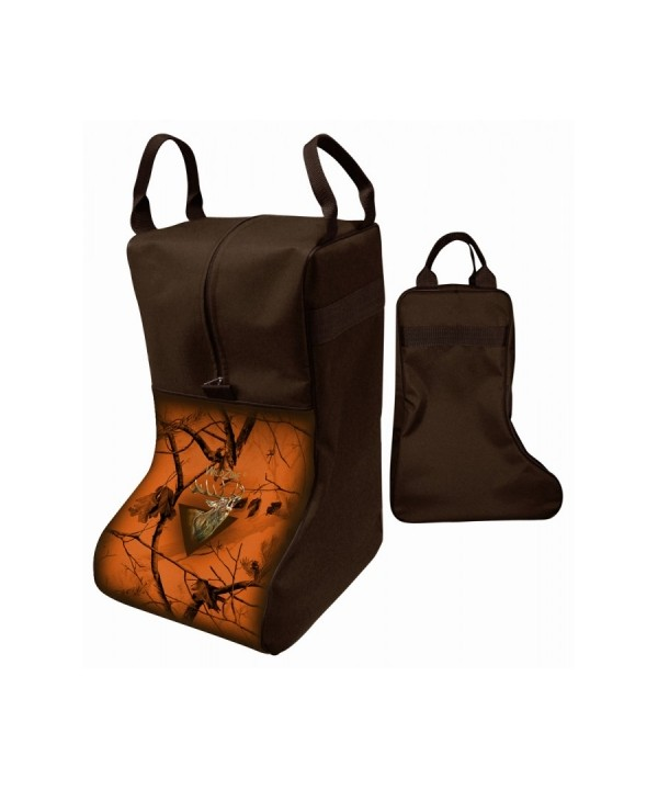 Camouflage Boot Case with Deer Print