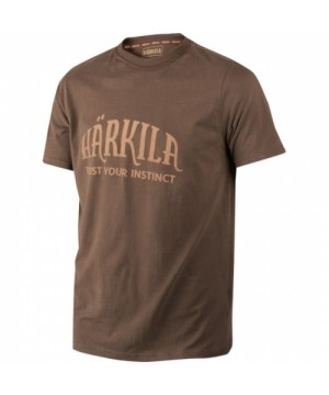 Härkila T-shirt (Slate brown)