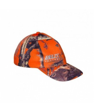 Orange Camou Cap Delta