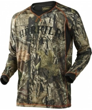 MOOSE HUNTER L/S T-SHIRT in MossyOakВ®Break-up CountryВ®
