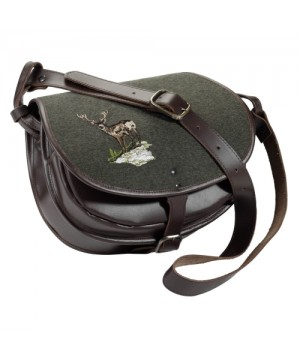 Cross body bag with deer motif Fritzmann