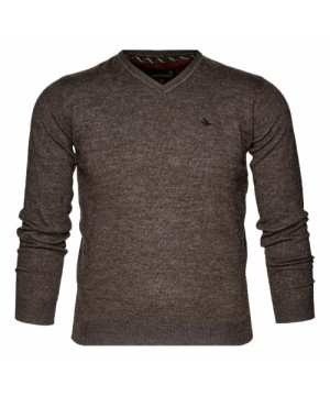 Seeland Compton Wool Pullover (Moose Brown)