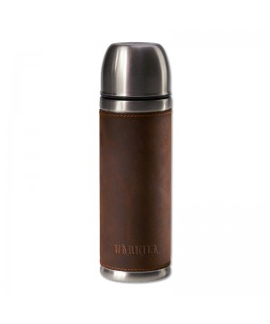 Harkila Leather Vacuum Flask (500ml)