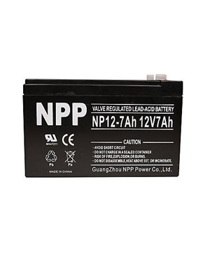 12 V battery 7 Ah - Lead Acid