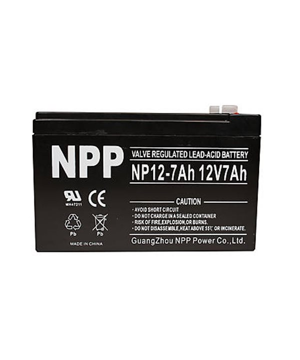 12 V battery 7 Ah - Lead Acid