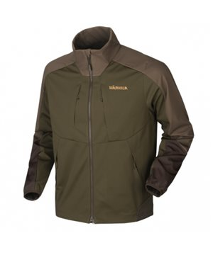Harkila Magni fleece jacket (Willow green/Shadow brown)