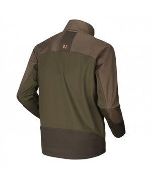 Harkila Magni fleece jacket (Willow green/Shadow brown)