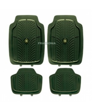 Universal car mats with hog emblems