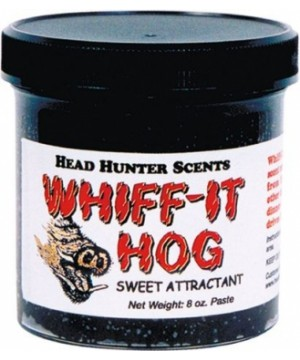 Long distance attractant for hogs