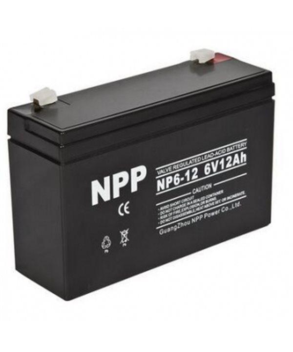 6 V battery 12 Ah