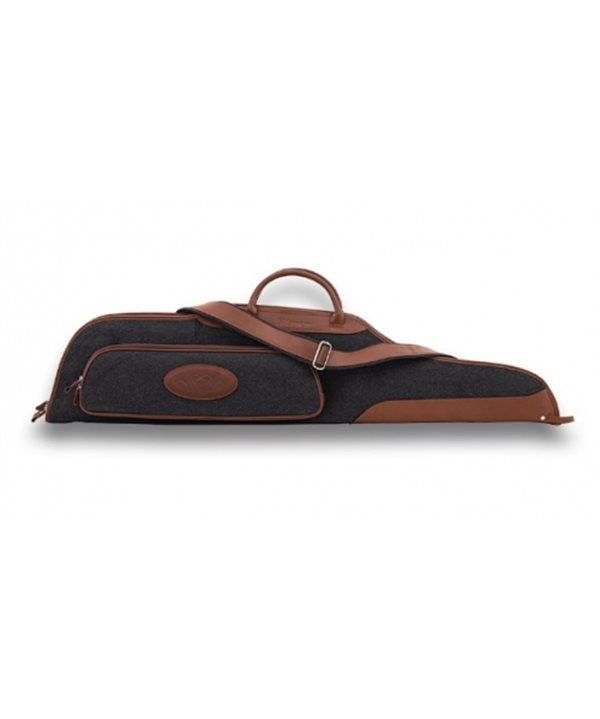 Blaser leather rifle soft case with wool 110 cm