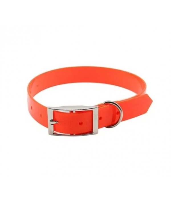 Biothane Dog Collar Beta orange BO60025