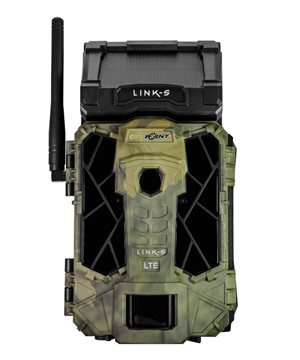 Spypoint Link-S wireless trail camera with solar panel