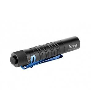 Flashlight Olight i5T EOS with blue pocket clip