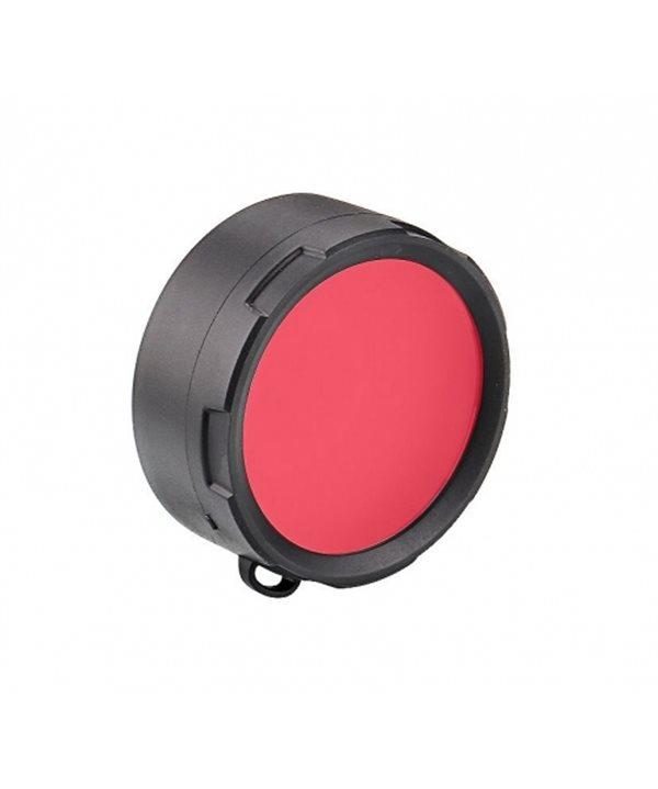 Olight filter for Warrior X Turbo flashlight D58-R (red)