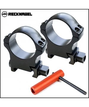Rifle Scope Mounting Rings RECKNAGEL D30, BH 14