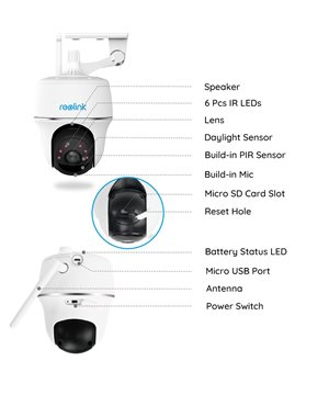 Wireless Camera Reolink Argus PT 1080P