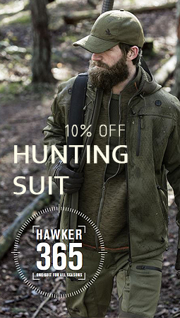 Seeland Hawker Shell Pine Green Hunting Suit